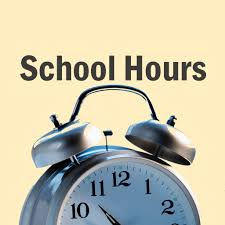 Updated 2017-2018 School Hours!